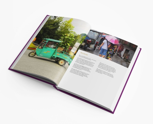 china guidebook pages